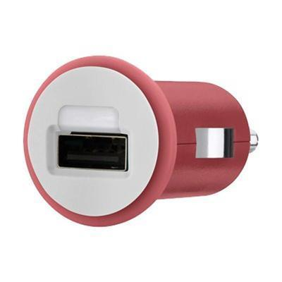 Belkin F8j002ttred Mixit Car Charger - Power Adapter - Car - 10 Watt - For Apple Iphone 5