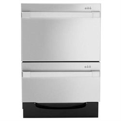 Dcs DD24DUT7 Semi-Integrated Double DishDrawer