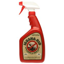 Iguana Rid IR-100132 Safe, Natural, Organic Iguana Repellant 32 oz Spray