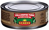 Chicken of The Sea Genova Tonno, Solid Light Tuna in Olive Oil, 5 oz