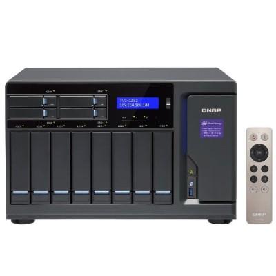 Qnap Tvs-1282-i7-32g-us 12 Bay Nas/iscsi Ip-san  Intel Skylake Core I7-6700 3.4 Ghz Quad Core