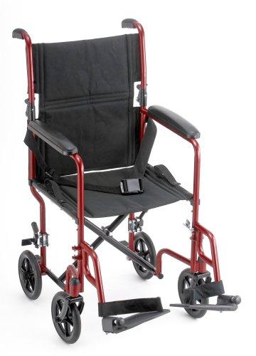 NOVA 319 Steel Transport Chair, 19