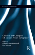 This book offers an in-depth African perspective to the major issues in demographic discourse in sub-Saharan Africa