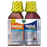 Vicks Dayquil/Nyquil Severe Cold & Flu Relief Liquid, 12 Fl Oz (Pack Of, 2) TEJ