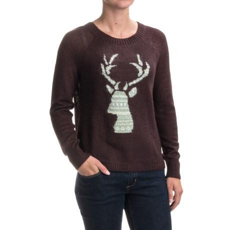 Motif Mohair Sweater (for Women)