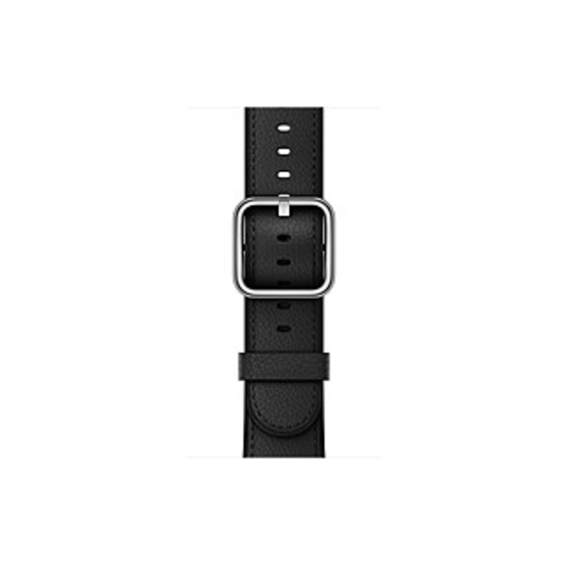 Apple 42mm Black Classic Buckle - Black - Calf Leather