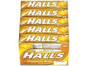 Halls Honey Lemon, 20-count Packages