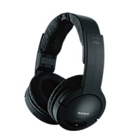 The Sony MDR RF985RK Wireless Radio Frequency Headphone System is designed to transmit analog audio sources wirelessly to its headphones with a range of operation of up to 150 feet