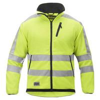 Snickers High Vis Fleece Jacket Yellow Medium