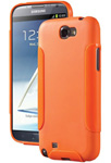 Dba Cases Galaxy Note Ii Ultra Tpu Case - Tangerine Ultra Tpu Case For