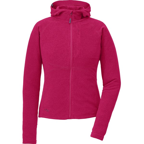 Outdoor Research Soleil Hoodie Sweatshirt - Trim Fit, Full Zip (For Women)