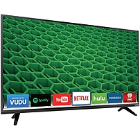 Vizio D55-d2 55-inch Led Smart Tv - 1920 X 1080 - 5,000,000:1 - 240 Clear Action Rate - Wi-fi - Hdmi