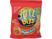 Ritz Bits, Peanut Butter, 1.5Oz Packs, 60/Carton Type: Snacks & Condiments