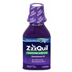 ZzzQuil Nighttime Sleep-Aid Liquid, Warming Berry?