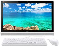 """Acer Dc All-in-one Computer - Nvidia Tegra K1 2.10 Ghz - 4 Gb Ddr3 Sdram - 16 Gb Ssd - 21.5"""" 1920 X 1080 Touchscreen Display - Chrome Os - Slate - White - Nvidia Graphics - Wireless Lan - Bluetooth - Hdmi - 3 X Total Usb Port(s) - Quad-core (4 Core) Um.wd1aa.002"""