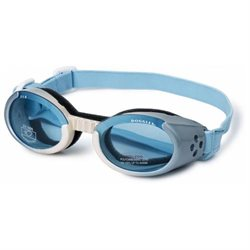 ILS Lense Dog Goggles in Ice Blue Gradient - Size-See Chart Below: Extra Small