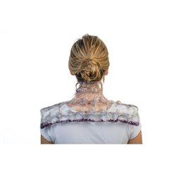 Dr.Soooothe's Neck and Shoulder Heat Dr.Soooothe's Heat Therapy Neck and Shoulder Wrap (instant heat, reusable), with purple quartz
