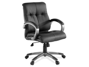 Lorell Managerial Chair Leather Black Seat - 32