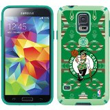 Coveroo CandyShell Cell Phone Case for Samsung Galaxy S5 - Boston Celtics Tribal Print