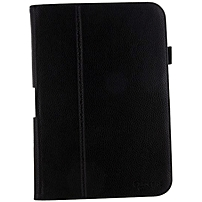"Roocase Dual Station Folio Case Cover For Google Nexus 10 - Black - Synthetic Leather - 10.9"" Height X 7.7"" Width X 0.7"" Depth Rc-nexus10-sta-bk"