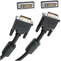 Startech Dviidmm15 15 Feet Dvi-i Dual Link Digital Analog Monitor Cable - 1 X 29 Pin Combined Dvi - Male/male - Black