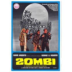 Dawn of the Dead Poster Movie Spanish 11 x 17 In - 28cm x 44cm David Emge Ken Foree Gaylen Ross Scott H. Reiniger David Crawford David Early