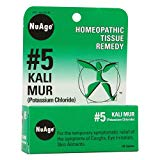 NuAge #5 Kali Muriaticum Tablets, Natural Relief of Coughs, Eye Irritation, Skin Ailments, 125 Count