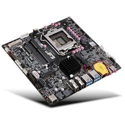 ECS Motherboard B75H2-TI(1.0A) HDMI/LVDS LGA1155 B75 DDR3 2xmini-PCI Express 2xHDMI Dual monitor support Thin Mini-ITX