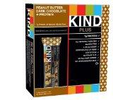 KIND PLUS, Peanut Butter Dark Chocolate   Protein, Gluten Free Bars (Pack of 12)