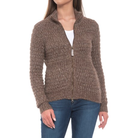 Westridge Bomber Zip Sweater (for Women)