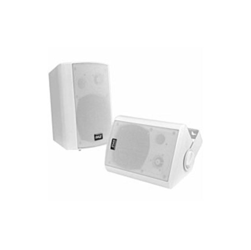 Pyle Pdwr61btwt Speaker System - 60 W Rms - Wireless Speaker(s) - Wall Mountable - White - 80 Hz - 20 Khz - Surround Sound - Bluetooth - Wireless Audi