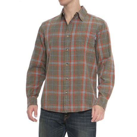 Red Creek Shirt - Cotton, Long Sleeve (for Men)
