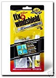 RainX Fix a Windshield Do it Yourself Windshield Repair Kit, for Chips, Cracks, Bulll's-Eyes and Stars