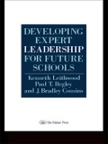 Based on the authors' research on the behaviour and thinking of school leaders, this volume presents arguments about the natue of expert school leadership