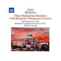 Rózsa: (3) Hungarian Sketches (Music CD)