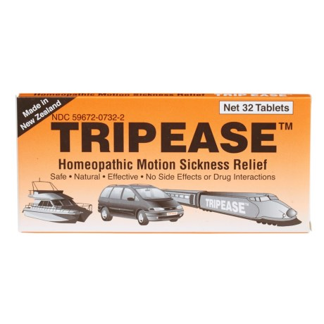 Homeopathic Motion Sickness Prevention Tablets
