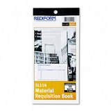 Material Requisition Book, 4-1/4 X 7-7/8, 2-part Carbonless, 50-set Book