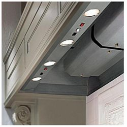 Vent-A-Hood Professional Series BH246PSLDSS Wall Hood Liner with 600 CFM Magic Lung Filterless Blower and Dual Level Halogen Lighting: 48 Inch Wide