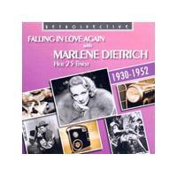 Marlene Dietrich - Falling in Love Again - Her 25 Finest (Music CD)