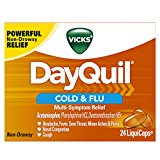 Vicks DayQuil Cough Cold and Flu Relief, 24 LiquiCaps
