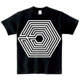 Exo Overdose Same T Shirt Kpop Kai Seuhn Lay (black, M)
