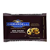 Ghirardelli 60% Cacao Bittersweet Baking Chocolate Chips, 3 Pound