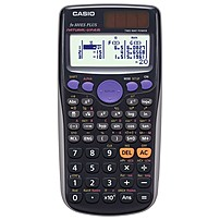 P  b At A Glance  b   p   p Casio's latest standard scientific calculator features new Natural Textbook Display and improved math functionality
