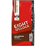 Eight O'Clock Colombian Peaks Whole Bean Coffee, 40-Ounce Package