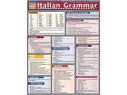 Italian Grammar (ITALIAN) (Quickstudy Reference Guides - Academic) Publisher: Barcharts Inc Publish Date: 7/1/2002 Language: ITALIAN Pages: 4 Weight: 0.28 ISBN-13: 9781572226265 Dewey: 458