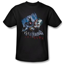 Mens ARKHAM CITY Short Sleeve JOKE'S ON YOU! Small T-Shirt Tee
