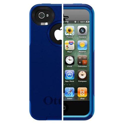 OtterBox Commuter Series Case for Apple iPhone 4S / iPhone 4 - Iceberg (Zircon Blue/White)