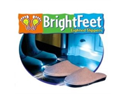 Bright Feet Lighted Slippers - Adult