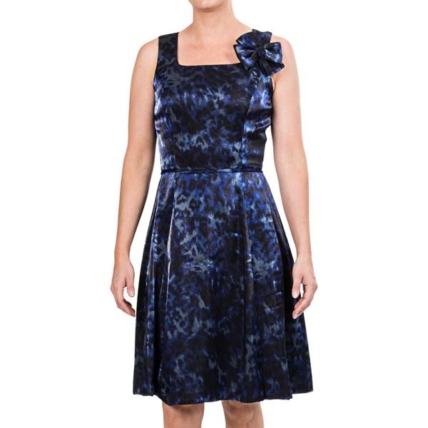 Chetta B Fit and Flare Dress - Sleeveless (For Women)