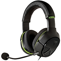 Turtle Beach Ear Force Xo Four Stealth High-performance Xbox One Gaming Headset - Stereo - Black - Mini-phone - Wired - 20 Hz - 20 Khz - Over-the-head - Binaural - Circumaural - 3 Ft Cable Tbs-2320-011